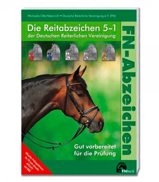 Die Reitabzeichen 5-1 der Deutschen Reiterlichen Vereinigung © Waldhausen GmbH