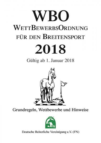 Wettbewerbsordnung für den Breitensport (WBO) 2018 - Inhalt © BUSSE GmbH