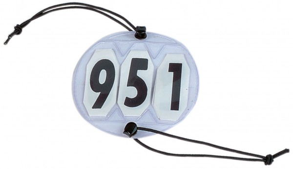 Startnummern RUND, 3-stellig © BUSSE GmbH